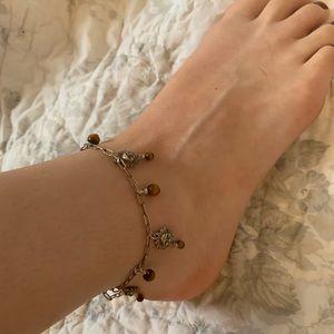 Jewelry - Tigers eye anklet